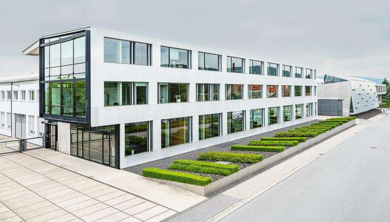 Bürogebäude der Trumpf Sachsen GmbH in Neukirch