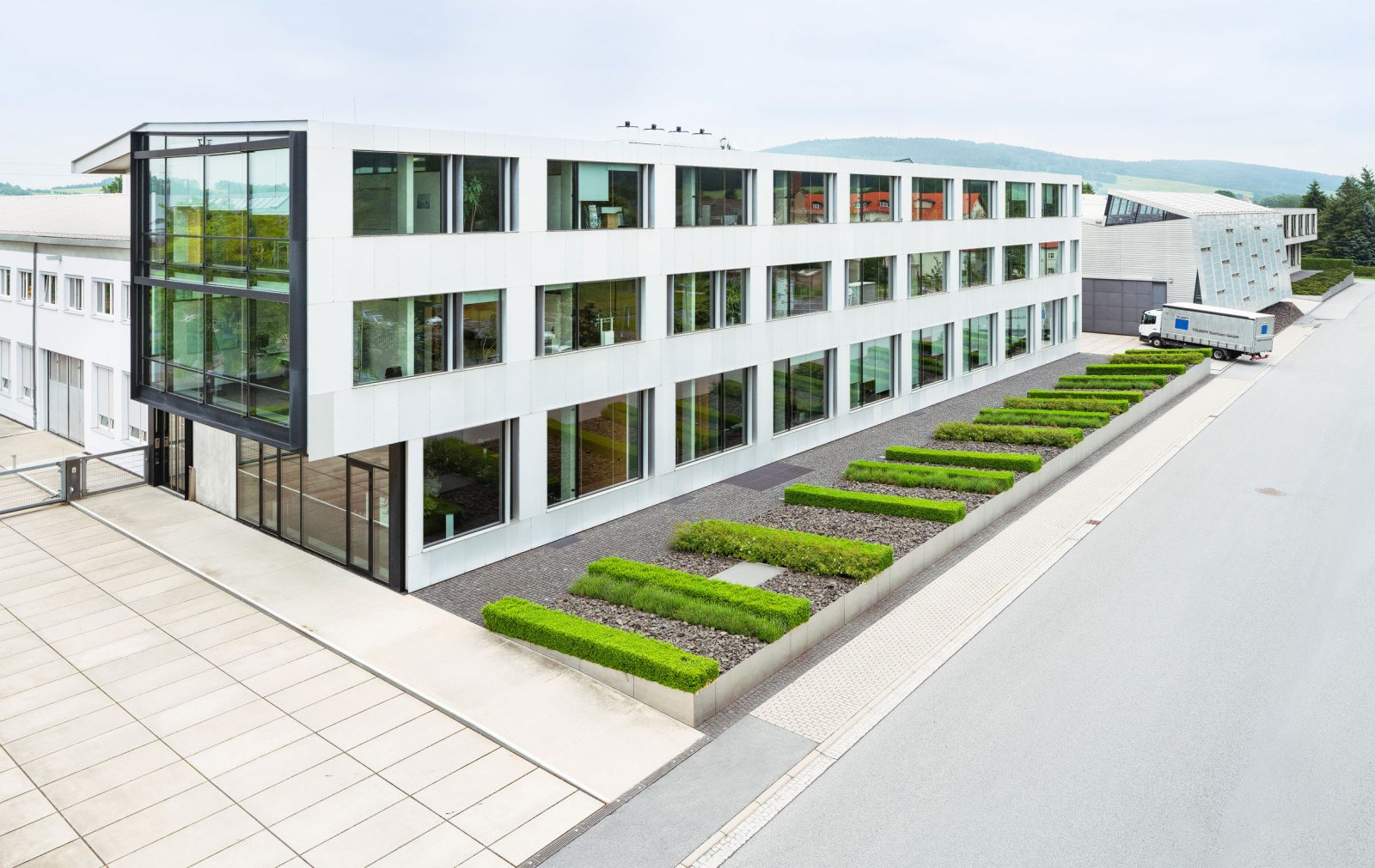Bürogebäude Trumpf Sachsen GmbH, Neukirch/Lausitz