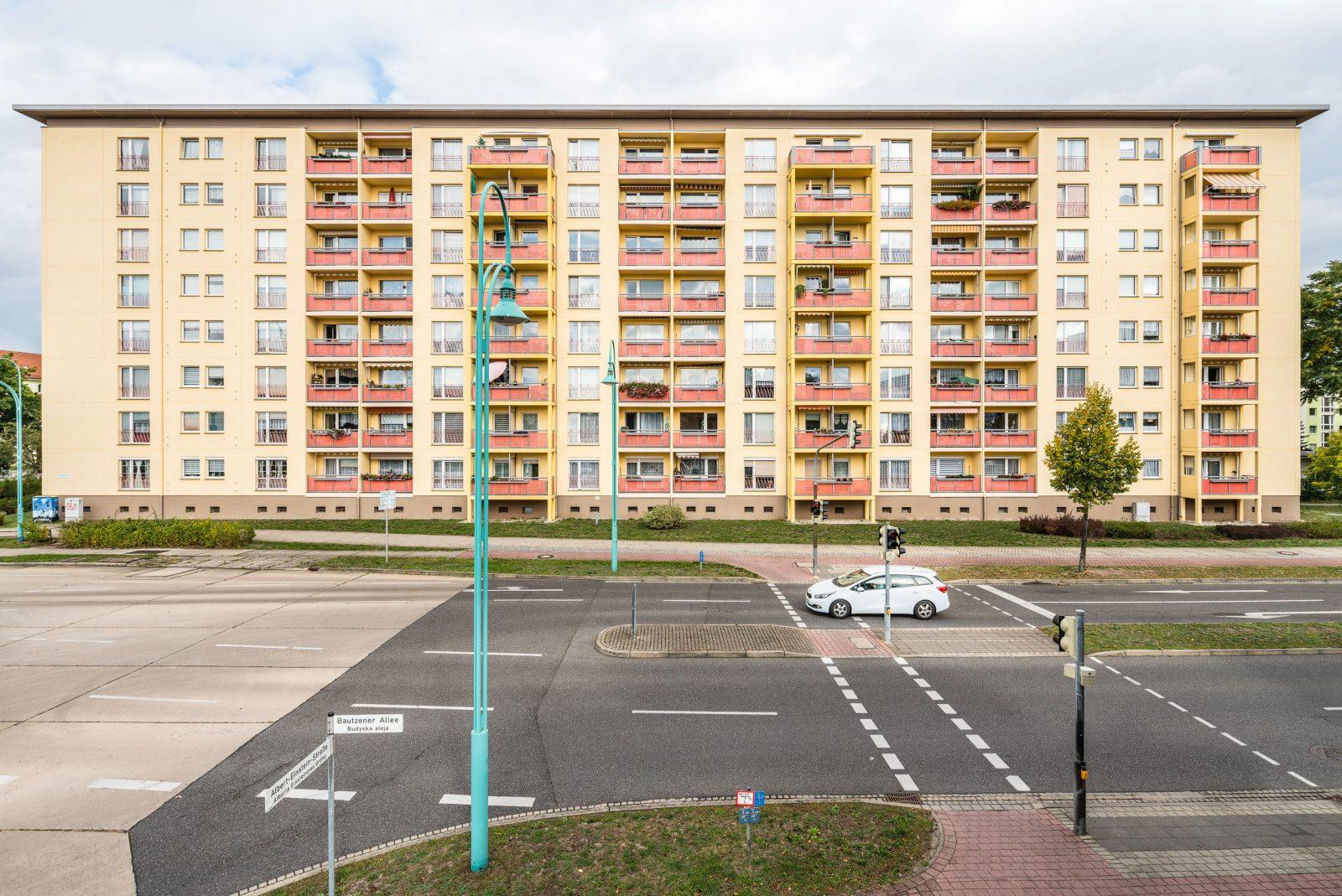 Wohn-Hochhaus, Hoyerswerda