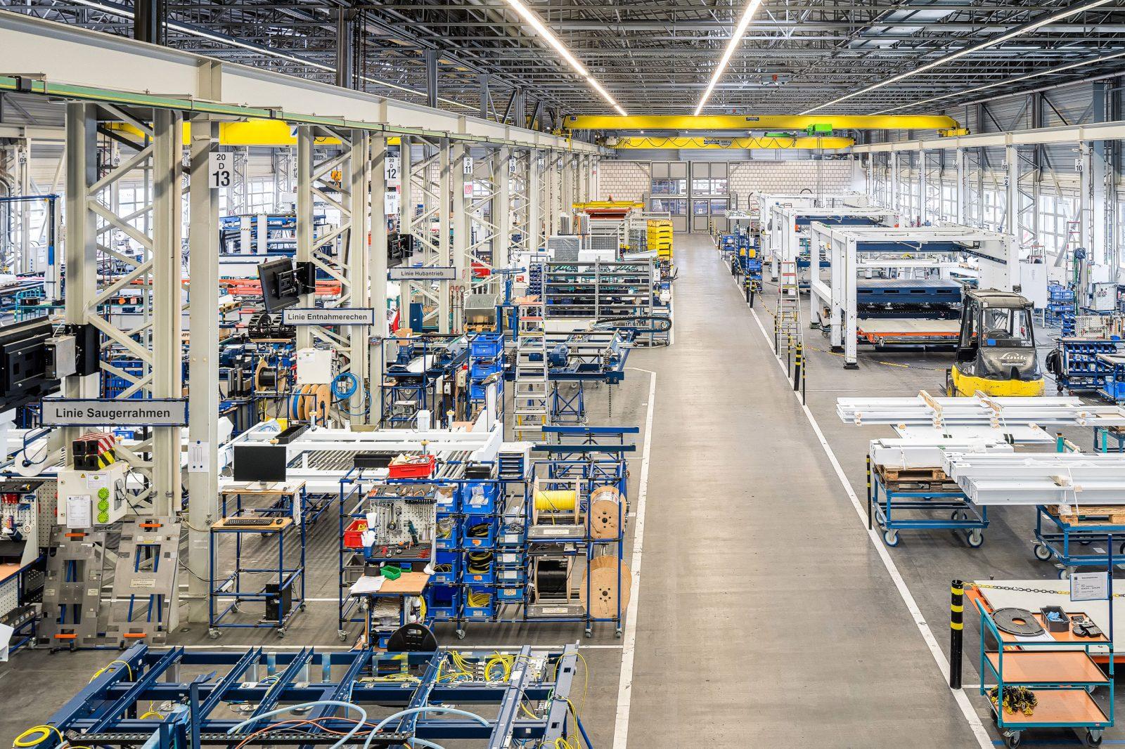 Produktionshalle / Trumpf Sachsen GmbH