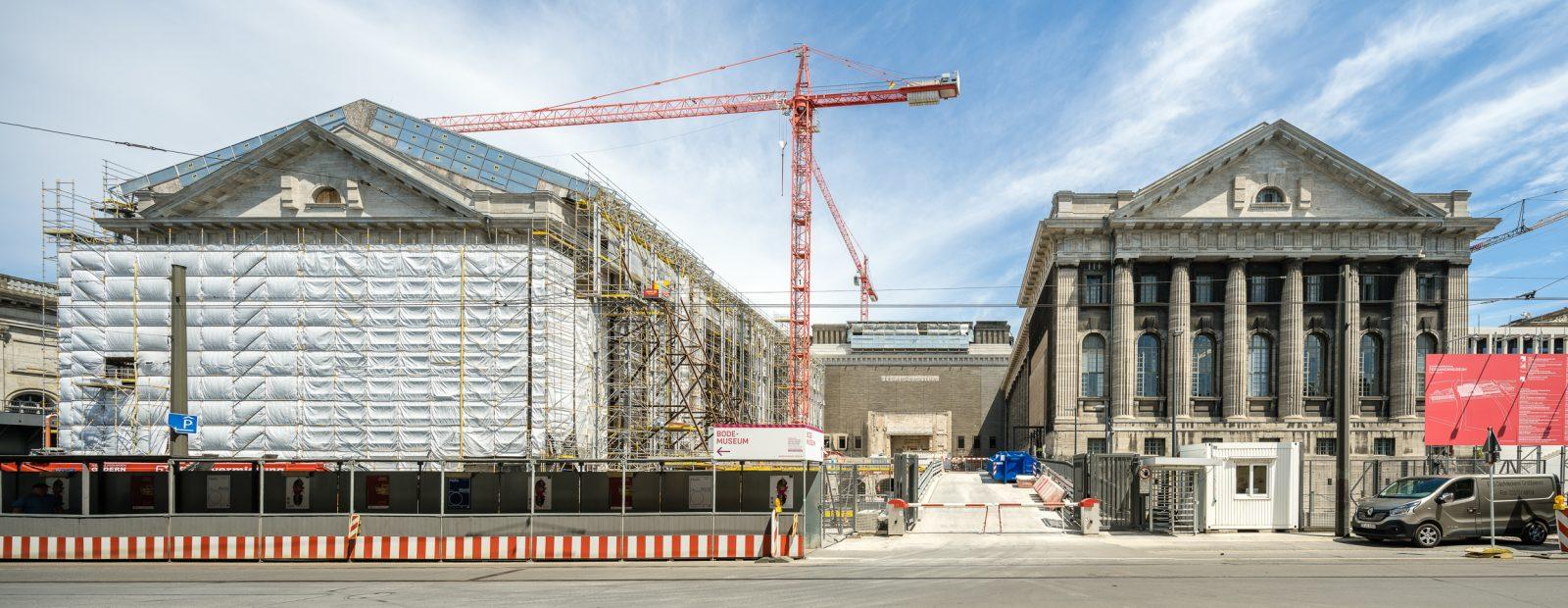 Baustelle Pergamonmuseum 2018, Berlin