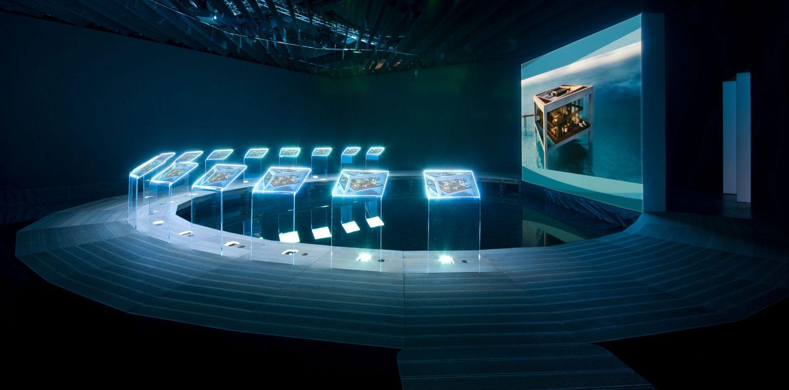 Ausstellungsraum, Nurai Island / Abu Dhabi