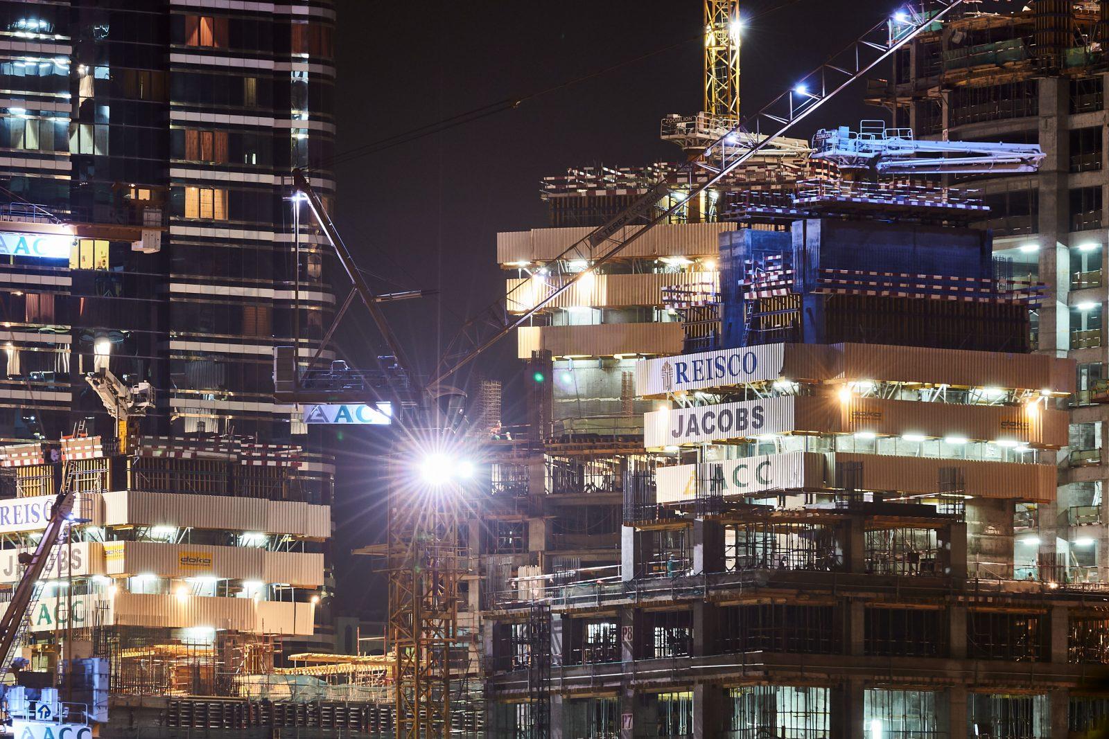 Großbaustelle, Abu Dhabi