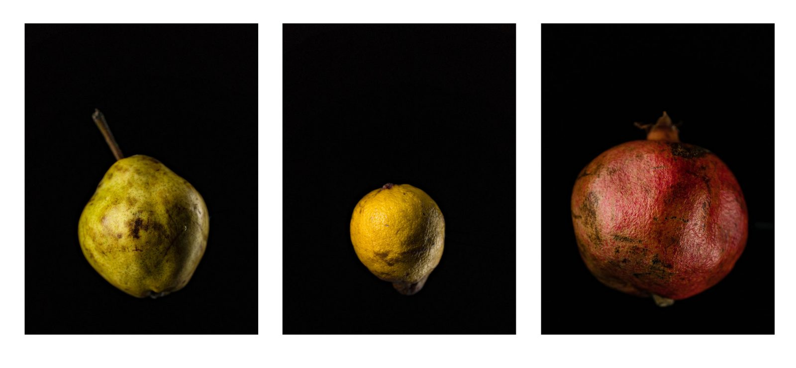Triptychon / Obst