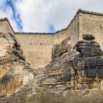 Festungsmauer von Süd-West